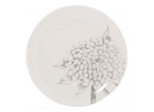 Dezertní talíř Chrome flowers -   Ø 20*2 cm