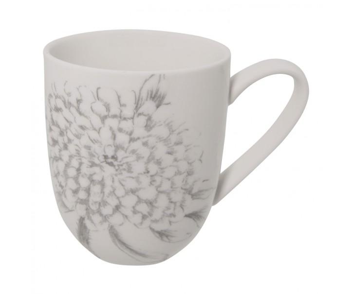 Hrnek Chrome flowers -    9*11 cm