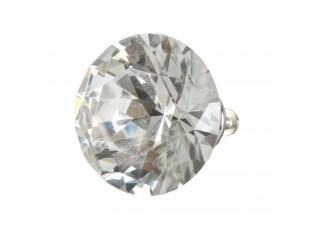 Úchytka tvar polodiamant - Ø 4 cm
