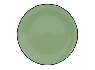 Jídelní talíř Enamel Look green -  Ø 26*3 cm