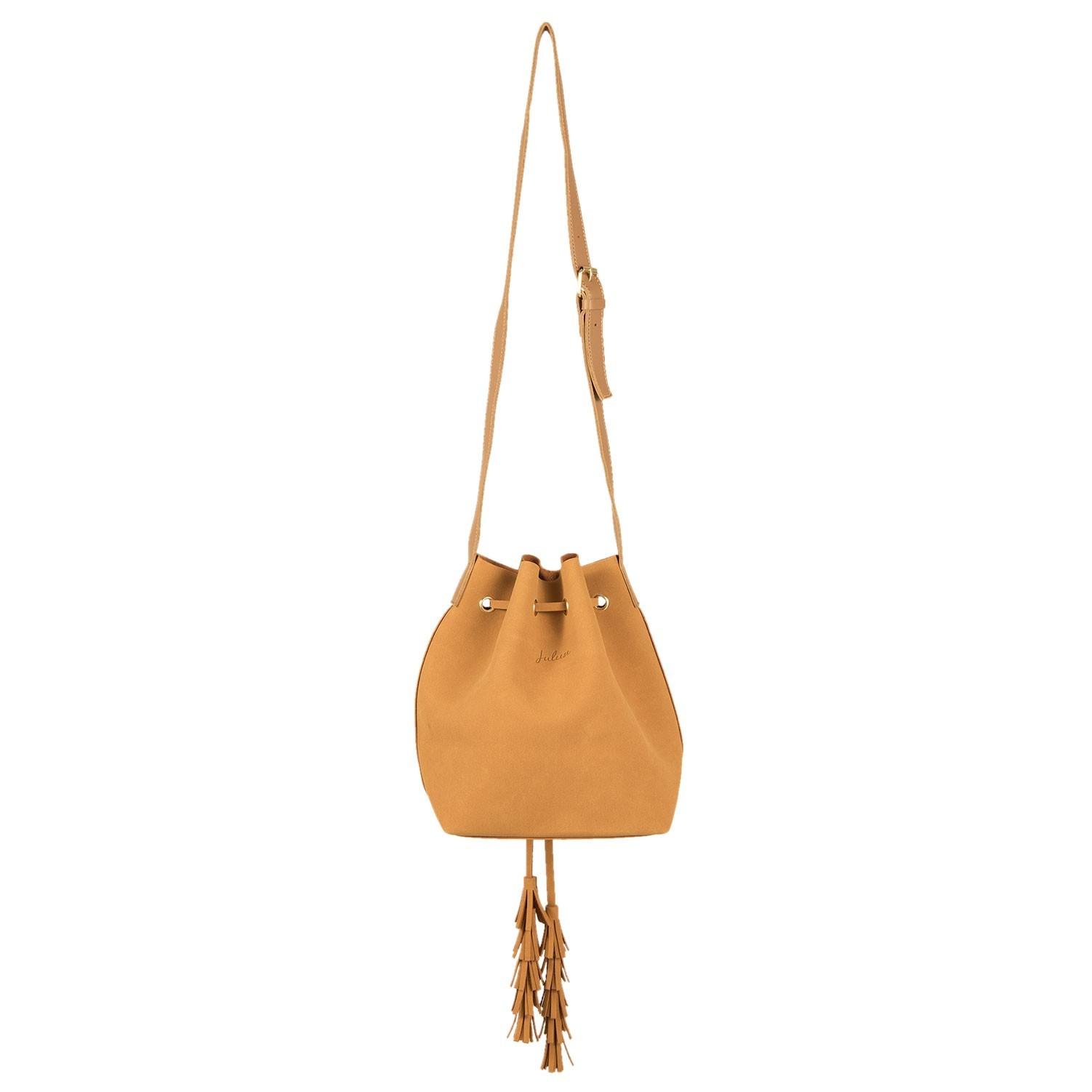 Hnědá kabelka Vak přes rameno Pouch - 22*24 cm