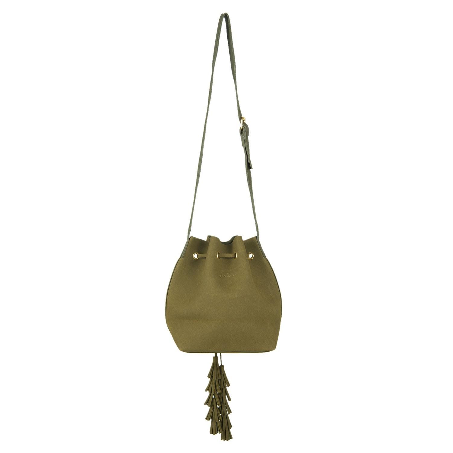 Juleeze Zelená kabelka Vak přes rameno Pouch - 22*24 cm