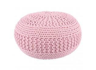 Světle růžový puff Jacqueline - Ø50*35 cm