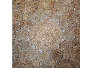 Přírodní jutový koberec Bruzino Ø125 cm