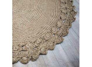 Přírodní jutový koberec Almona Ø125 cm
