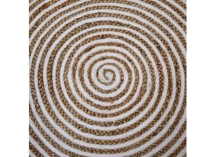 Přírodní jutový koberec Abra Ø125 cm