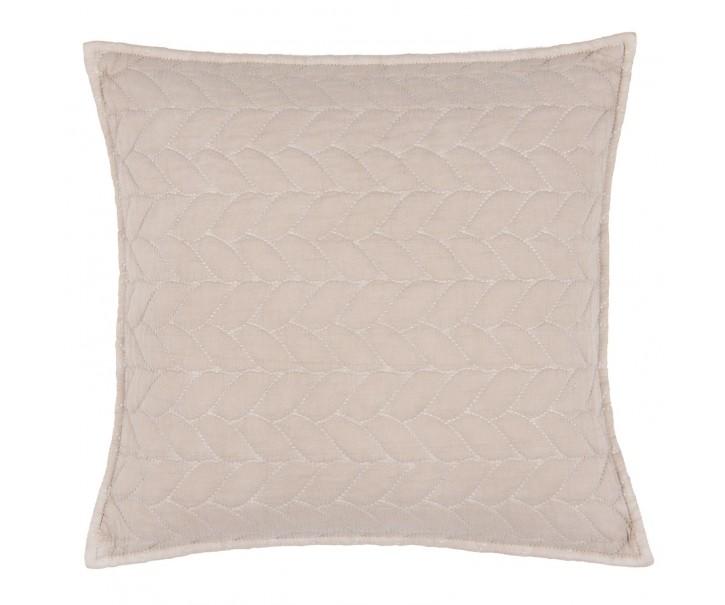 Béžový povlak na polštář Quilt 186 - 50*50cm