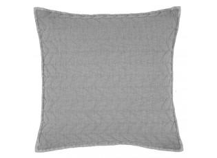 Šedý povlak na polštář Quilt 186 - 50*50cm