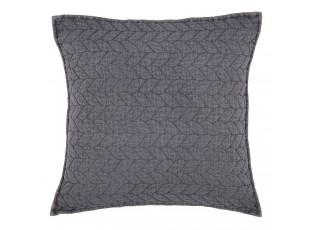 Tmavě šedý povlak na polštář Quilt 186 - 40*40cm