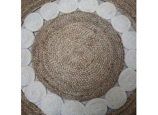Přírodní jutový koberec Agnese - Ø125 cm