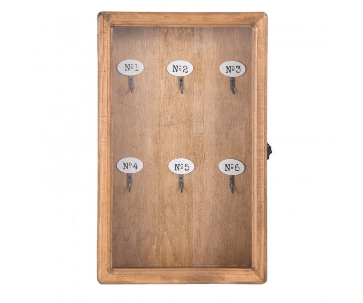 Skříňka na klíče -  24*7*38 cm