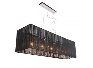 Závěsné světlo Venzia Black  - 110*30cm