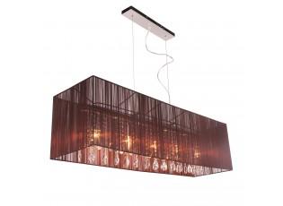 Závěsné světlo Venzia Brown - 110*30cm