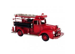 Kovový model hasičské auto - 31*11*14 cm