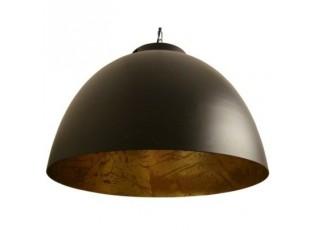 Závěsné světlo KYLIE černá/ zlatá - Ø 45*32 cm