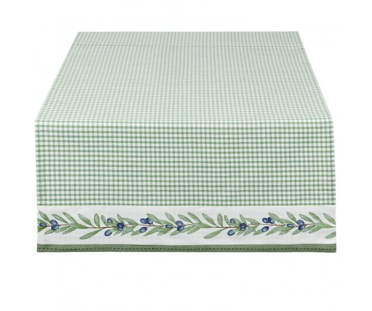 Běhoun na stůl Olive Garden -  50*140 cm