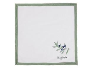 Textilní ubrousky Olive Garden -  40*40 cm
