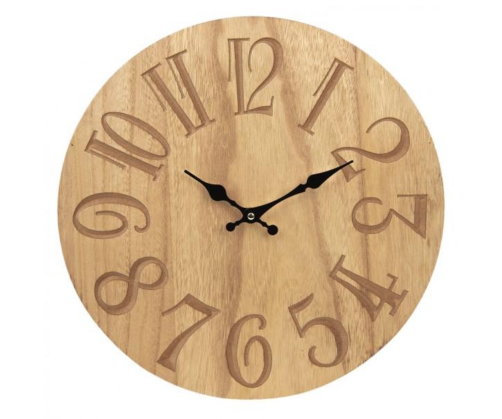 Nástěnné hodiny - Ø 40*4 cm / 1*AA