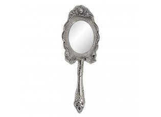 Stříbrné kosmetické zrcátko - 6*2*21 cm