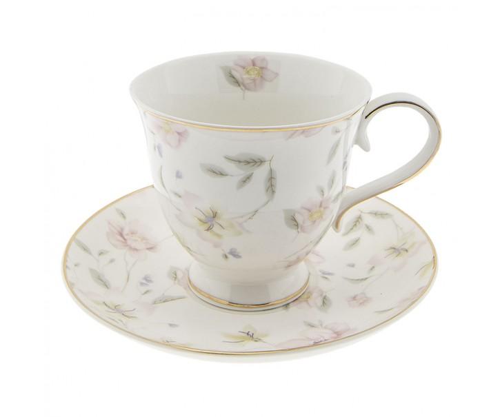 Šálek s podšálkem Tea Wild Flower -  Ø 15*9 cm / 0.22 L