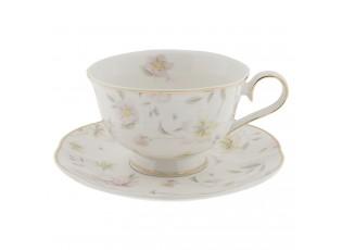 Šálek s podšálkem Tea Wild Flower -  Ø 15*7 cm / 0.25 L