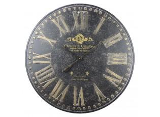 Kovové hodiny Chateau de Chambres - Ø 80*3.5 cm