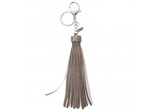 Přívěsek na klíče Star tassed grey