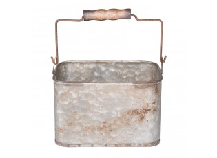 Plechový box s rukojetí - 20*14*15 cm / 2,5L