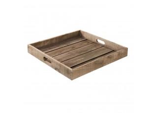 Dřevěný servírovací podnos -  45*6 cm