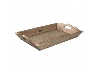 Dřevěný servírovací podnos - 51*34*9 cm