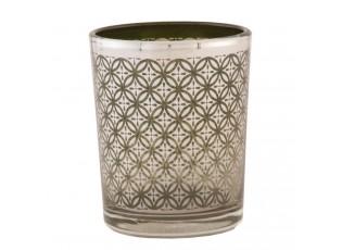 Skleněný svícen na čajovou svíčku - Ø 5*6 cm