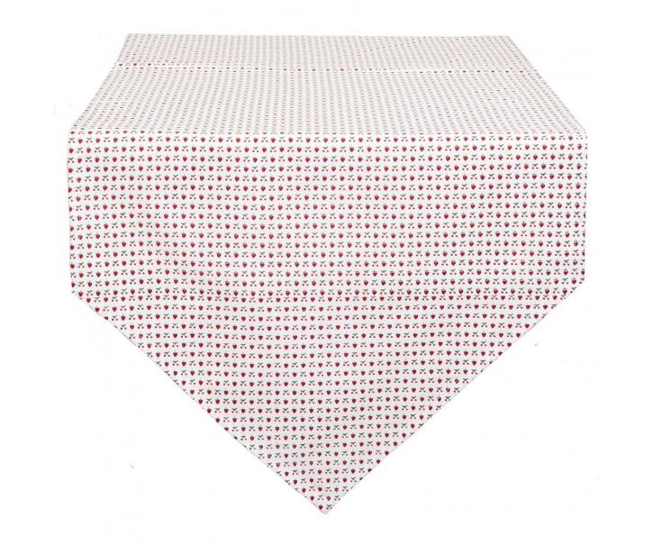 Běhoun na stůl Strawberries And Cherries - 50*160 cm