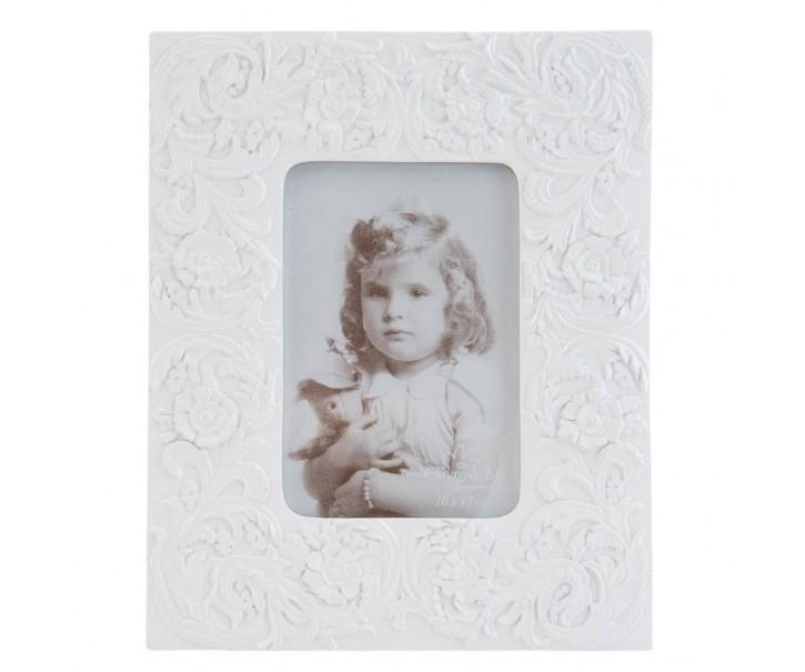Bílý fotorámeček - 20*25 cm / 10*15 cm