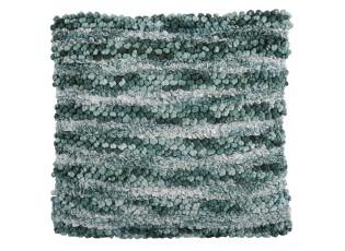 Zelený polštář s výplní Veronica 45*45 cm