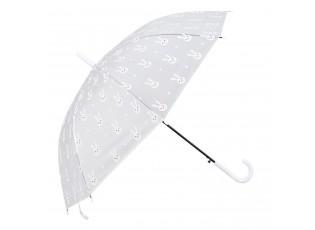 Dětský deštník s králíčky Bunny white - Ø 90*55 cm