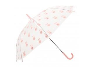 Dětský deštník s králíčky Bunny pink - Ø 90*55 cm