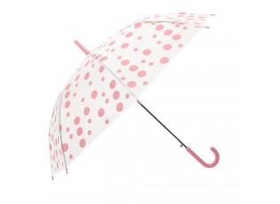 Dětský deštník s putíky Dots pink - Ø 90*55 cm