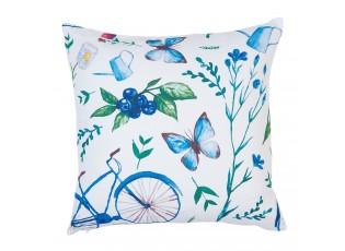 Povlak na polštář Summer blue - 45*45 cm