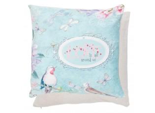 Povlak na polštář Love blue - 40*40 cm