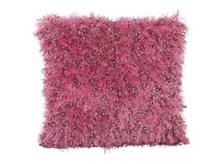 Růžový polštář s výplní Larino - 45*45 cm