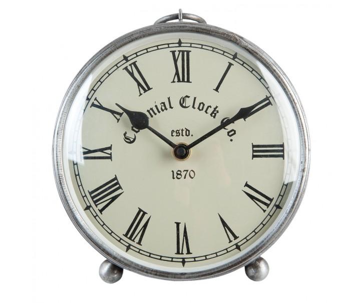 Stolní retro hodiny- Ø 16*6cm