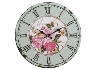 Nástěnné hodiny Marseille Roses - Ø 34*3 cm