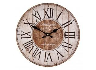 Nástěnné hodiny Antiquite de Paris - Ø 34*4 cm