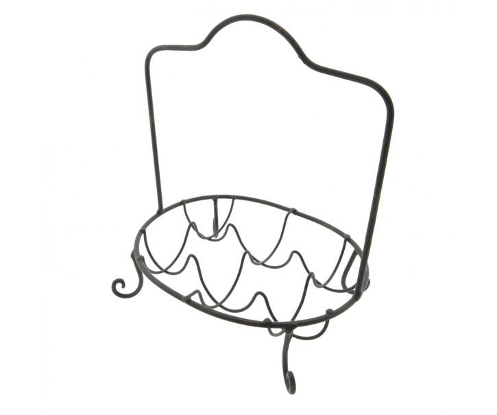 Kovový stojánek na vajíčka 6ks  - 22*18*24 cm