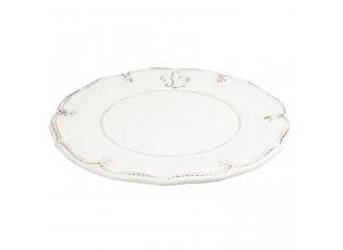 Jídelní talíř s patinou Franse Lelie - Ø 28*3 cm