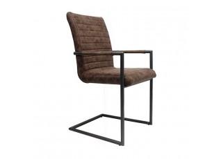 Hnědá židle/křeslo Industrial - 48*97 cm