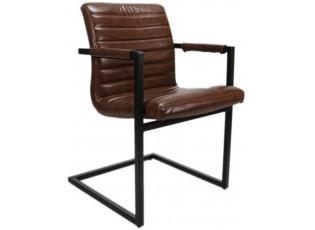 Hnědá židle/křeslo Bruut - 54*60*83 cm