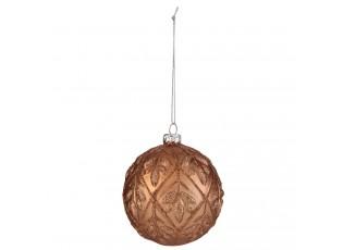 Bronzová vánoční ozdoba - Ø 7*7 cm- sada 6ks