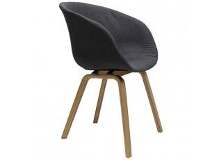 Tmavě šedá židle/křeslo Elegance - 49*52*79 cm
