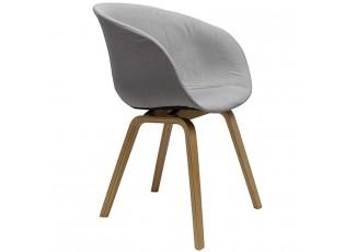 Světle šedá židle/křeslo Elegance - 49*52*79 cm